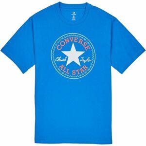 Converse CHUCK PATCH TEE modrá M - Pánské triko