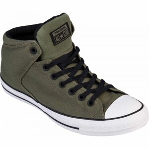 Converse CHUCK TAYLOR ALL STAR HIGH STREET tmavě zelená 42 - Pánské kotníkové tenisky