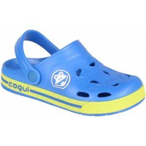 Coqui FROGGY modrá 34/35 - Dětské sandály
