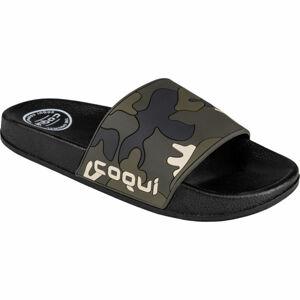 Coqui FLEXI zelená 44 - Pánské pantofle