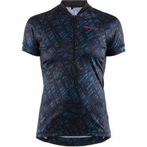 Craft VELO ART W modrá L - Dámský cyklistický dres