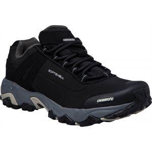 Crossroad DROPY černá 37 - Unisexová treková obuv