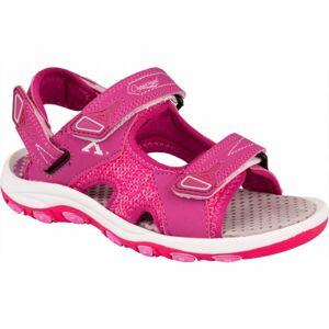 Crossroad MAALIK fialová 35 - Dětské sandály