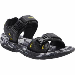 Crossroad MALACHI černá 42 - Pánské sandály