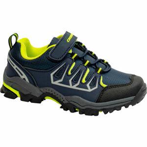 Crossroad DELIQ zelená 28 - Dětská treková obuv