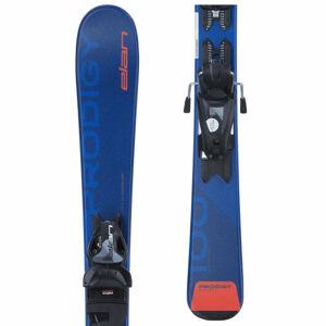 Elan PRODIGY QS + 7.5 BLU  130 - Dětské sjezdové lyže