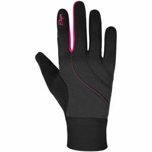 Etape AMBER WS+ tmavě šedá S - Dámské zateplené rukavice