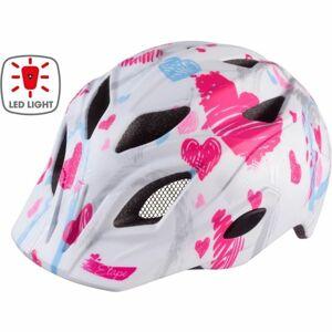 Etape PLUTO LIGHT bílá (52 - 56) - Dětská cyklistická přilba