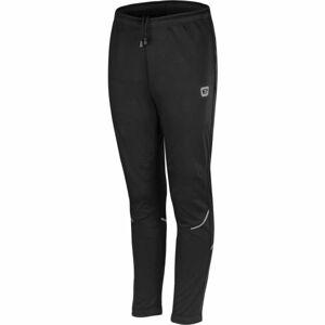 Etape SNOW WS černá 140-146 - Dětské softshellové kalhoty