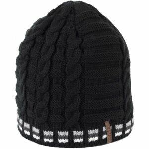 Finmark DIVISION šedá UNI - Pánská pletená čepice