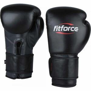 Fitforce PATROL černá 10 - Tréninkové boxerské rukavice