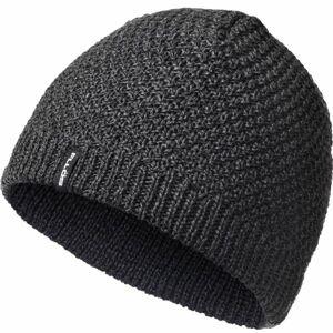 FLLÖS FRED tmavě šedá UNI - Pánská zimní čepice