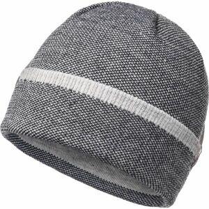 FLLÖS LASSE šedá UNI - Pánská zimní čepice