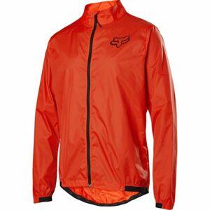 Fox DEFEND WIND JACKET oranžová 2XL - Pánská bunda na kolo