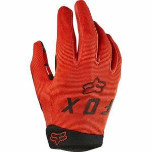 Fox RANGER GLOVE YTH oranžová S - Dětské rukavice na kolo