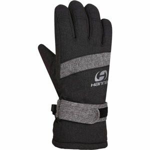 Hannah CLIO černá 5-6 - Dětské zateplené rukavice