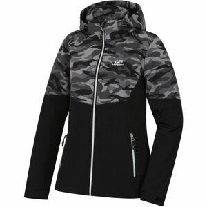 Hannah GILIA černá 34 - Dámská softshellová bunda