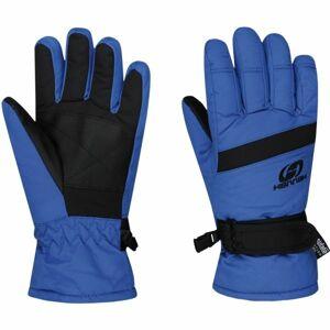 Hannah LEDDA modrá 9-10 - Dětské lyžařské rukavice