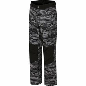 Hannah METTY tmavě šedá XXL - Pánské softshellové kalhoty