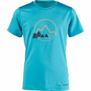 Head AUDRIC modrá 140-146 - Chlapecké triko