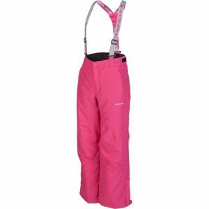 Head BETO růžová 128-134 - Dětské zimní kalhoty
