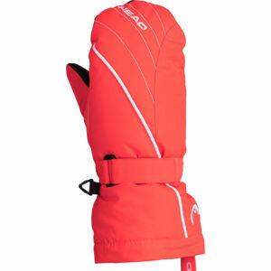 Head CORA oranžová 14-16 - Dětské zimní rukavice