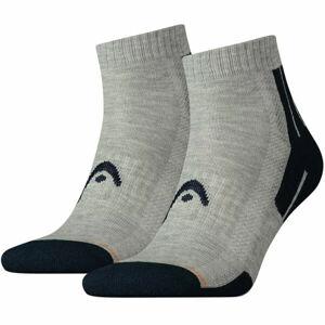Head PERFORMANCE QUARTER 2PACK  35 - 38 - Sportovní ponožky