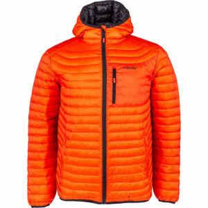 Head PATRICK oranžová M - Pánská prošívaná bunda