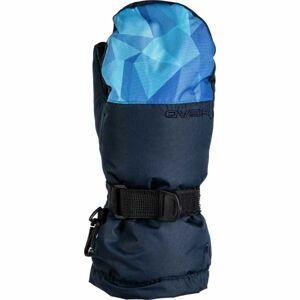 Head JUAN modrá 11-13 - Dětské zimní rukavice