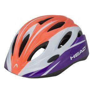 Head KID Y01 oranžová (48 - 52) - Dětská cyklistická helma
