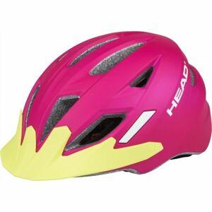 Head KID Y11A růžová (52 - 56) - Dětská cyklistická helma