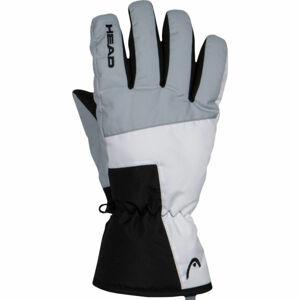 Head VAL černá 11-13 - Dětské lyžařské rukavice