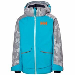 Helly Hansen JR STARLIGHT JACKET modrá 10 - Dětská lyžařská bunda