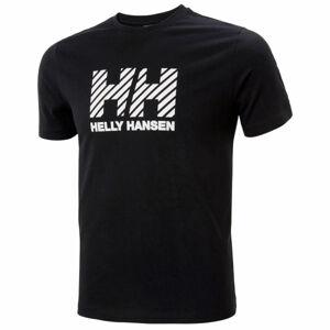 Helly Hansen ACTIVE T-SHIRT černá 2XL - Pánské triko
