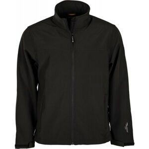 Hi-Tec LUMMER SOFTSHELL JACKET černá M - Pánská softshellová bunda