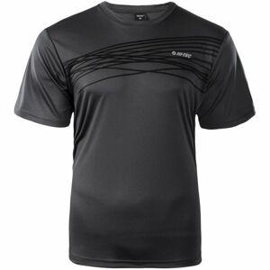 Hi-Tec MANNU černá M - Pánské funkční triko