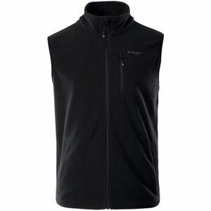 Hi-Tec NALUM černá S - Pánská fleecová vesta