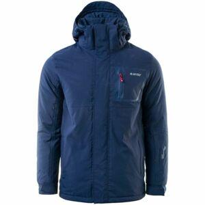 Hi-Tec NANUK tmavě modrá M - Pánská zimní bunda