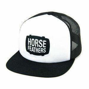 Horsefeathers LANDEN CAP černá UNI - Trucker kšiltovka