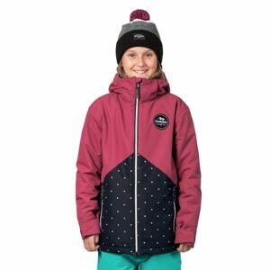 Horsefeathers JUDY KIDS JACKET růžová M - Dívčí snowboardová/lyžařská bunda