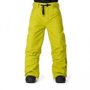 Horsefeathers CHEVIOT KIDS PANT žlutá M - Chlapecké lyžařské/snowboardové kalhoty