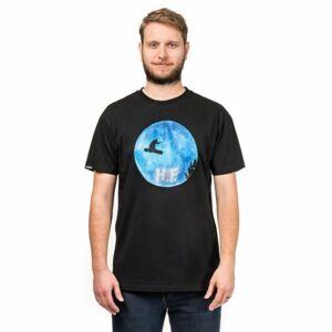 Horsefeathers H.F. T-SHIRT černá S - Pánské tričko