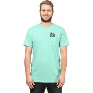 Horsefeathers GRENADE T-SHIRT světle zelená XL - Pánské tričko