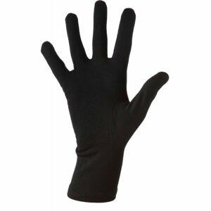 Icebreaker OASIS GLVLINR černá L - Sportovní rukavice