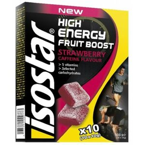 Isostar 10x10 G HIGH ENERGY FRUIT BOOST  NS - Energy želé