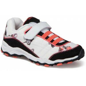Junior League DIKE 2 bílá 28 - Dívčí vycházková obuv