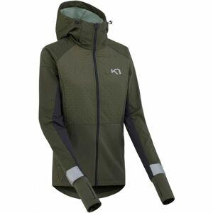 KARI TRAA TOVE tmavě zelená XL - Dámská funkční bunda