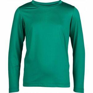 Kensis GUNAR JR zelená 152-158 - Chlapecké technické triko
