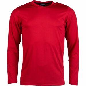 Kensis GUNAR červená L - Pánské technické triko
