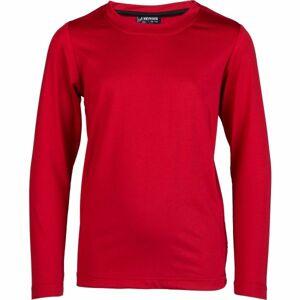 Kensis GUNAR JR červená 116-122 - Chlapecké technické triko